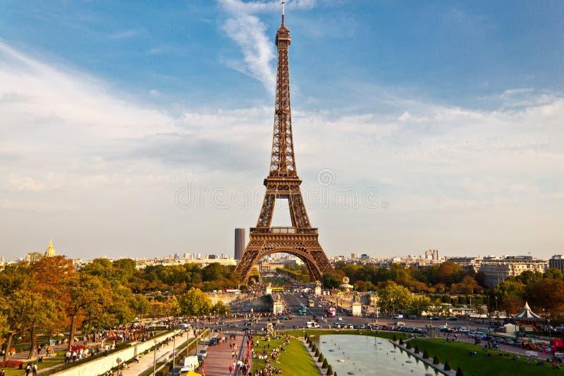 Wieża Eifla - Paryż fotografia royalty free