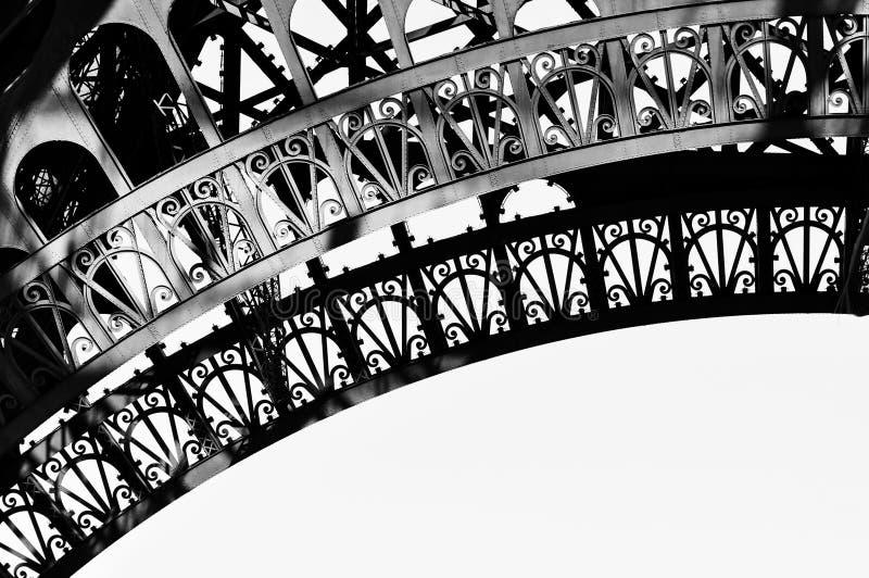 Wieża Eifla szczegół obrazy royalty free