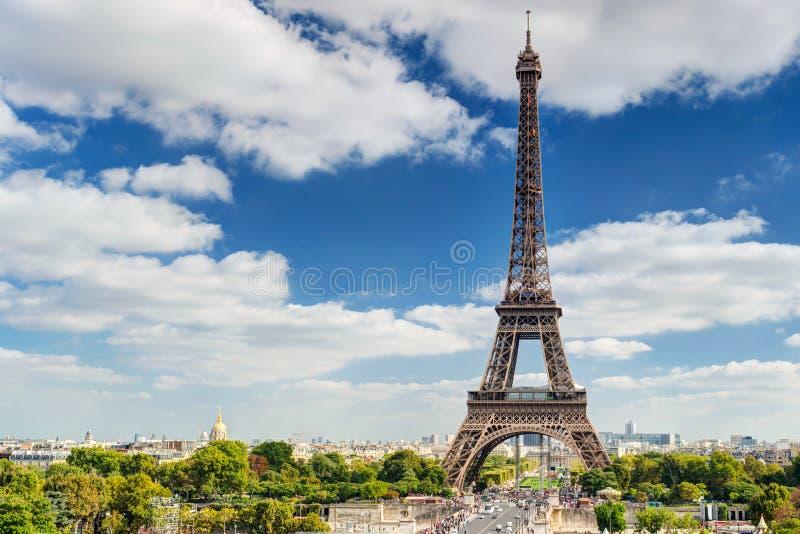 Wieża Eifla w Paryż fotografia stock