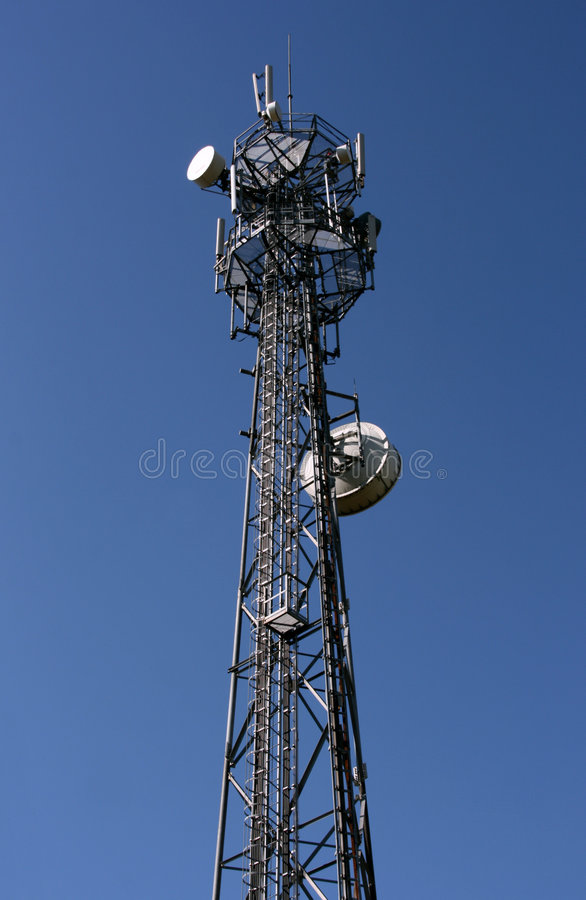 wieża komórek zdjęcia stock
