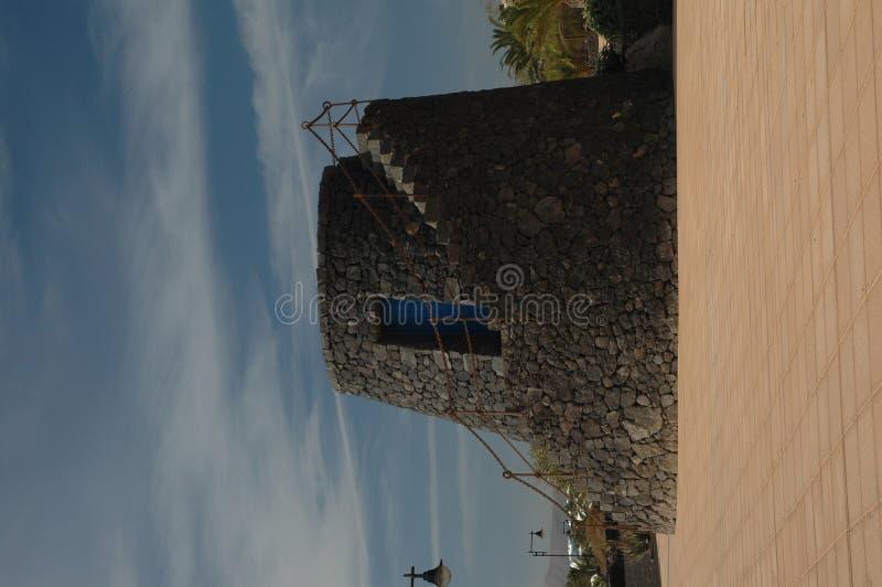wieża linię brzegową zegarek obraz stock