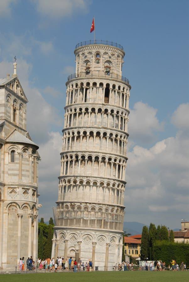 wieża pizzy obraz royalty free