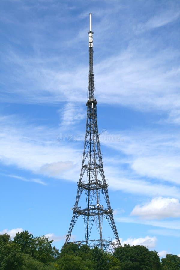 wieża radiowa tv zdjęcia stock
