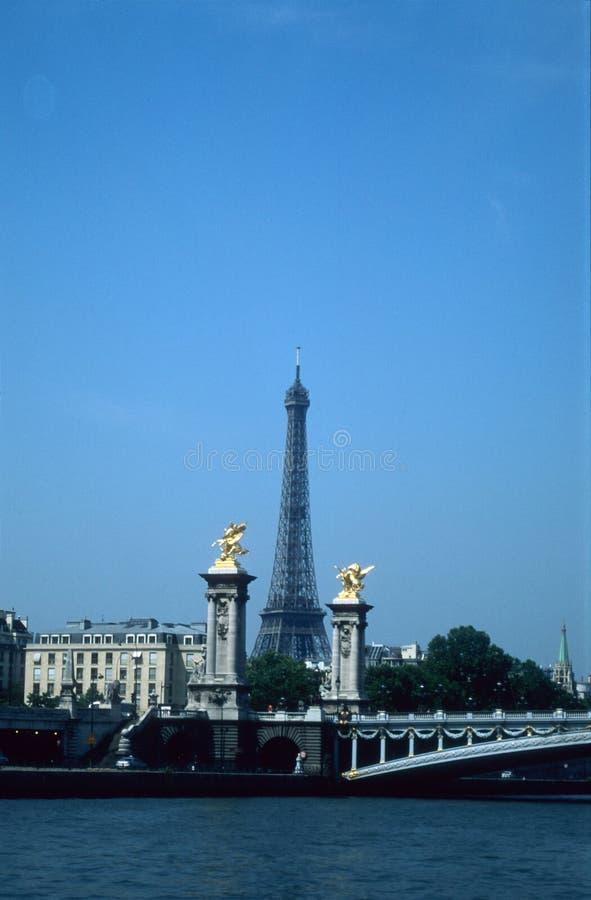 wieża sekwany obrazy royalty free