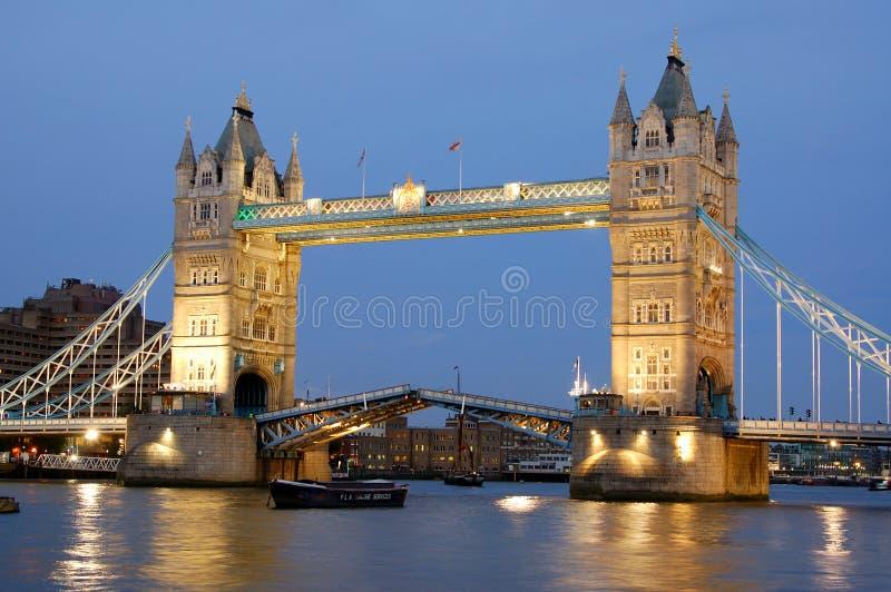 wieża wielkiej brytanii most London obraz royalty free