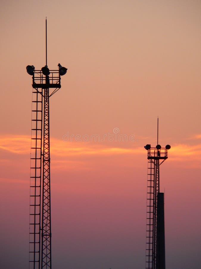 wieże obrazy stock