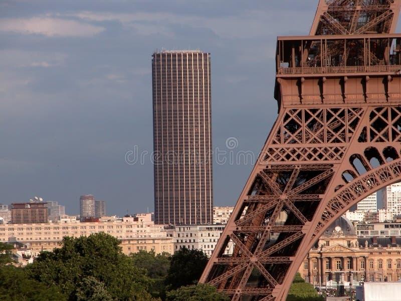 wieżowiec montparnasse obrazy royalty free
