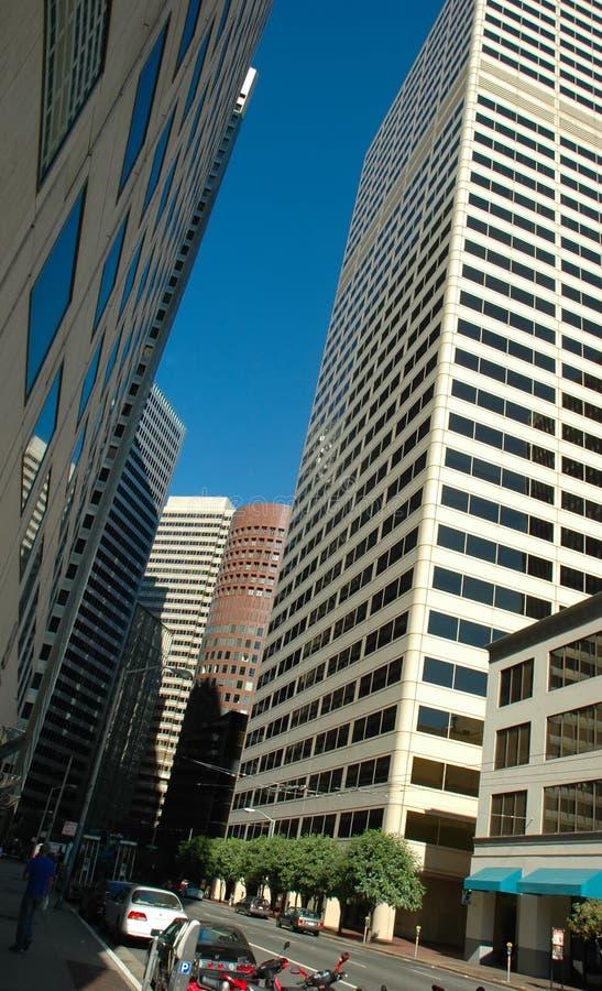 wieżowiec street zdjęcie stock
