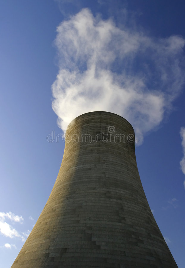 wieży chłodzącej obrazy stock
