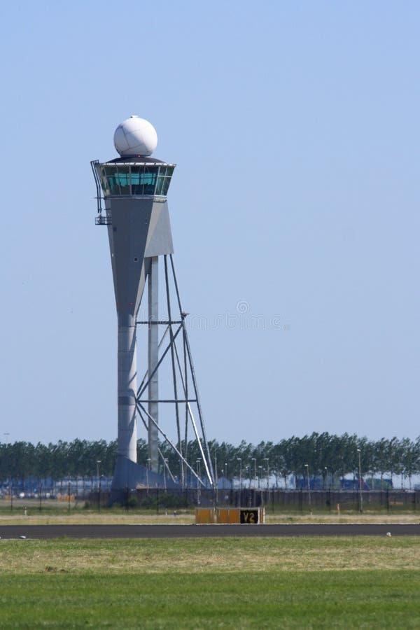 wieży kontrolnej lotniczy ruch drogowy obrazy stock