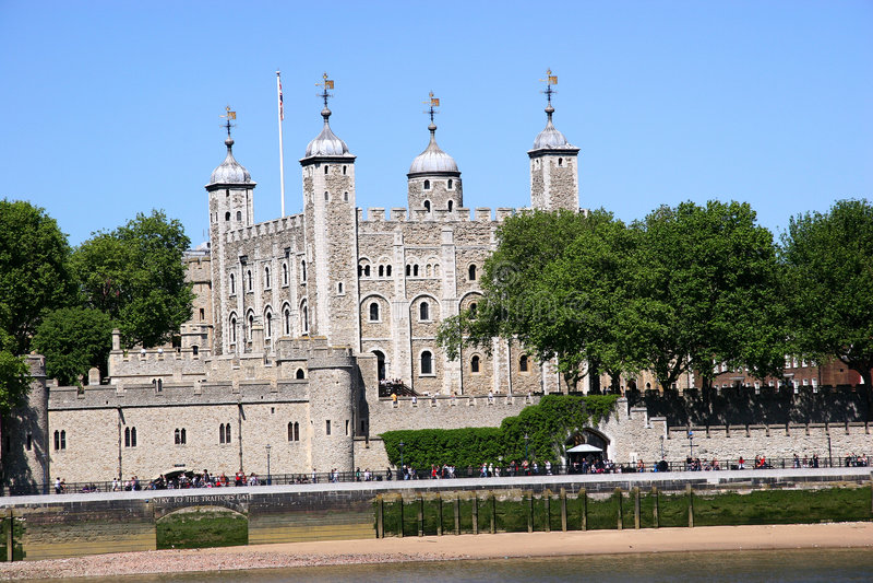 wieży londynu fotografia royalty free
