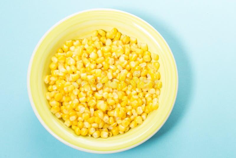 ?wie?y kukurydzany zbli?enie zdjęcie stock