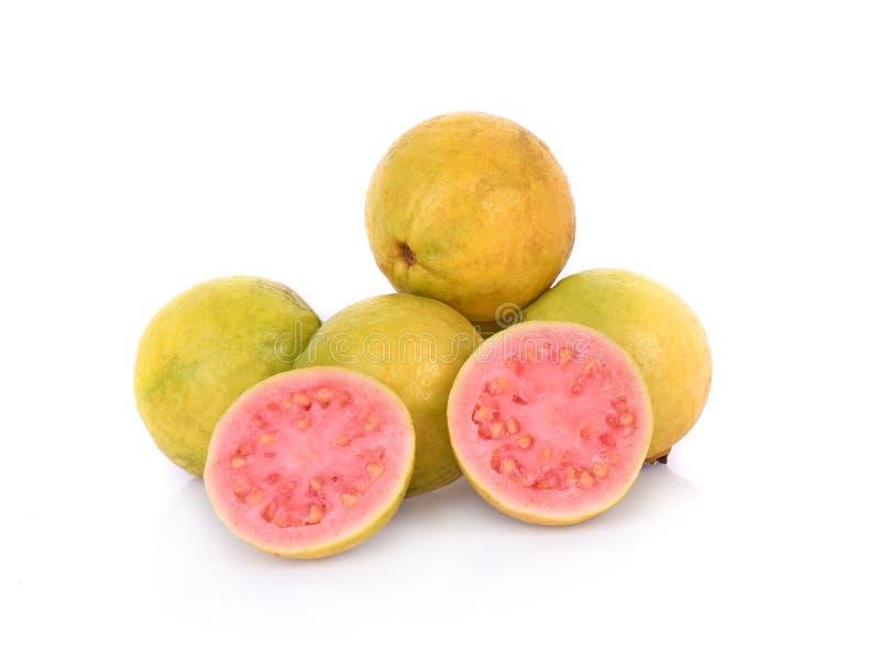 ?wie?a zielona guava owoc na bia?ym tle obrazy royalty free