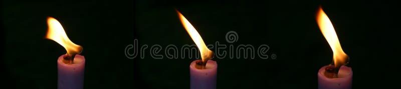 świeca 3 Fotografia Stock