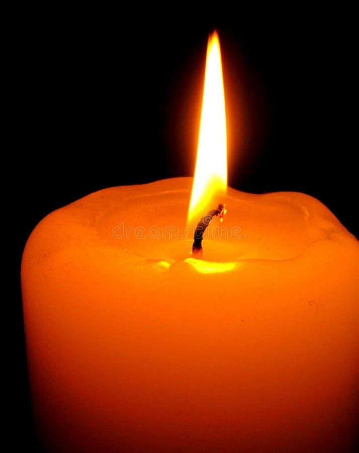 Download świeca zdjęcie stock. Obraz złożonej z świeczka, samotność - 34186