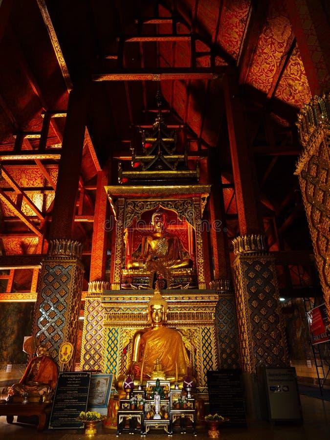 Wieczór przy świątynią fotografia royalty free