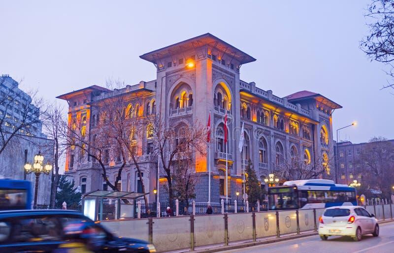 Wieczór spacer w Ankara obrazy royalty free