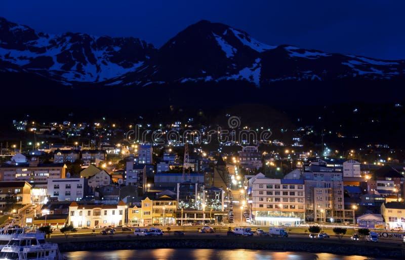 Wieczór w Ushuaia fotografia royalty free