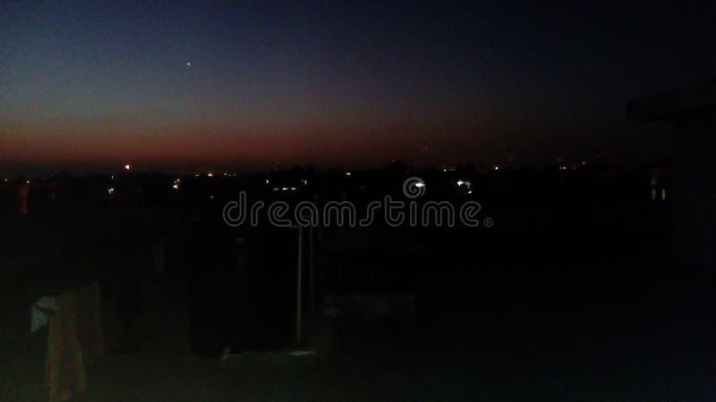 Wieczór widok Jaipur obraz royalty free