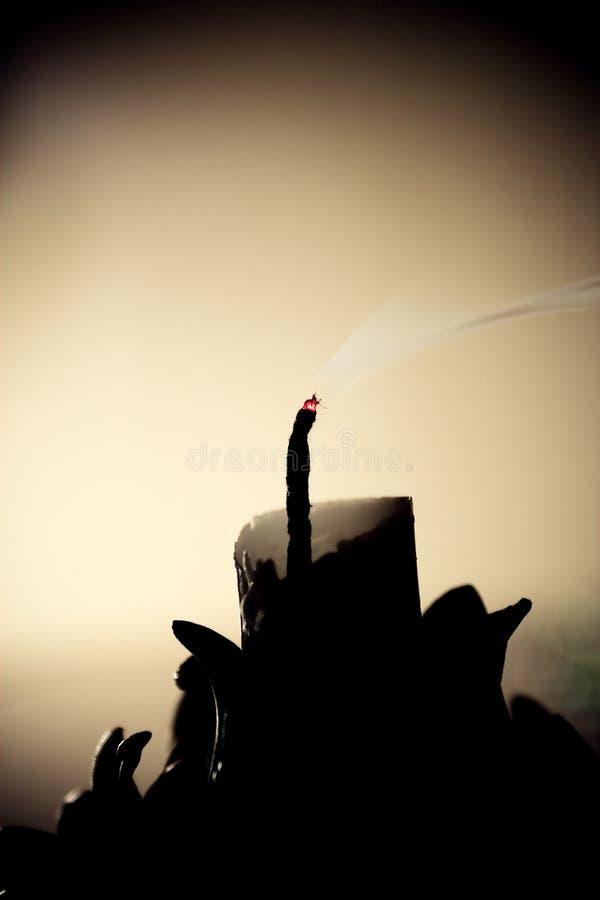 Download Świeczka zdjęcie stock. Obraz złożonej z świeczka, życie - 53783484