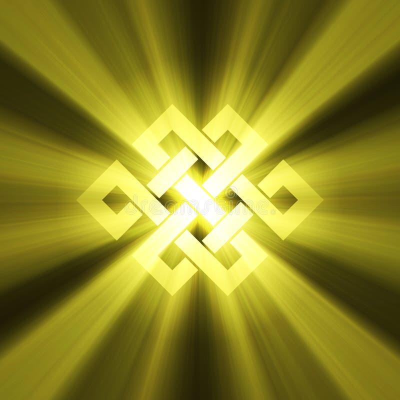 wiecznie racy kępki światła znak ilustracji