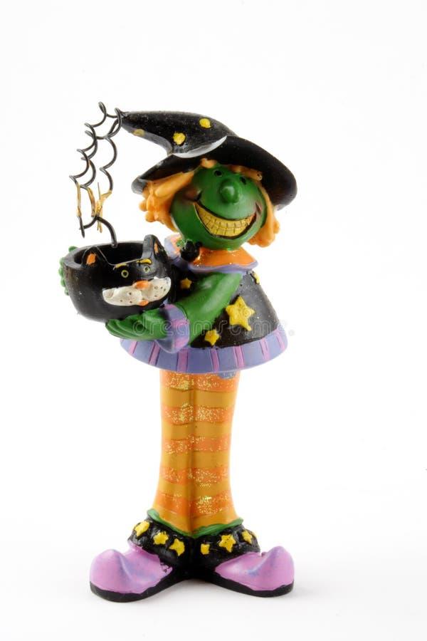 wiedźma Halloween kotła obraz royalty free