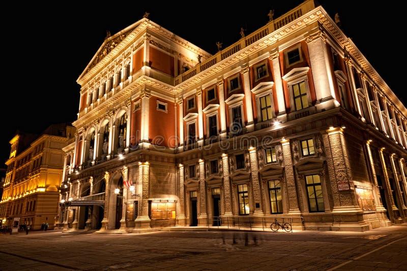Wiedeń, filharmonia obrazy stock