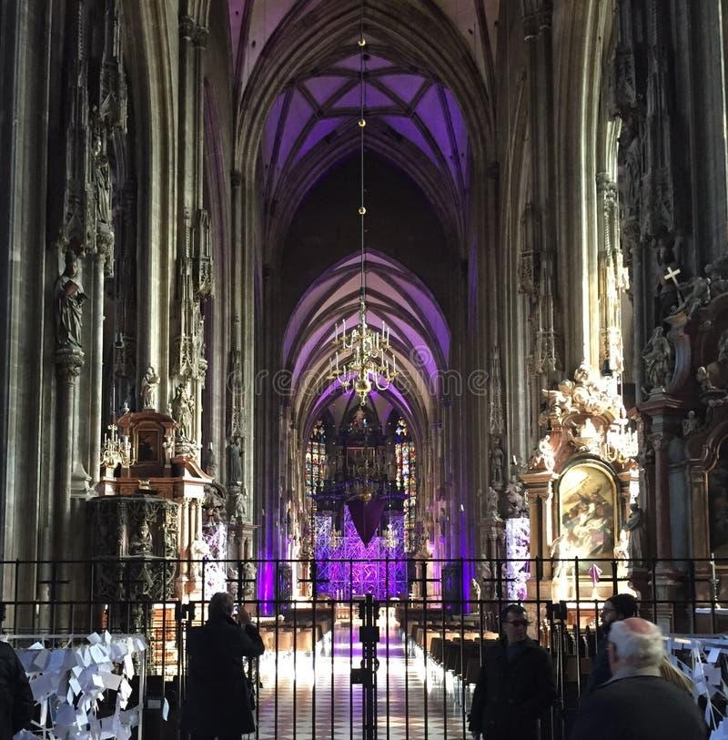 Wiedeń katedra zdjęcia stock
