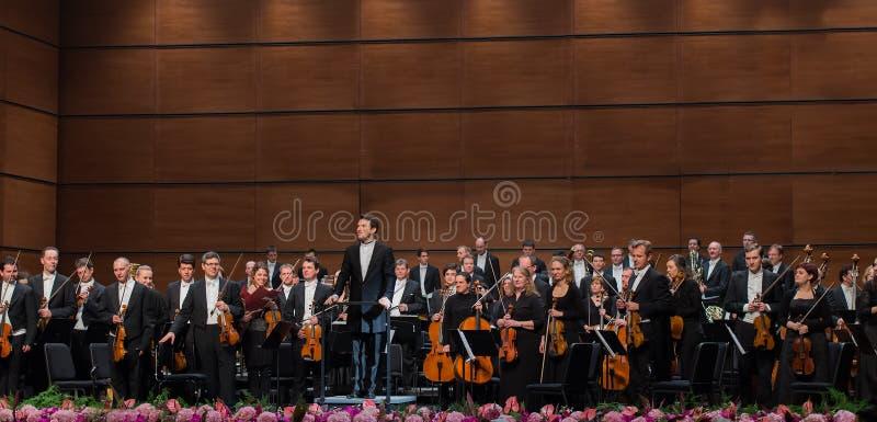 Wiedeń radia orkiestra symfoniczna obraz stock