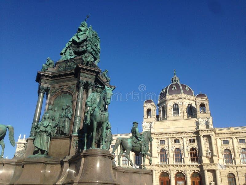 Wiedeńska katedralna powierzchowność z wyśmienitymi kolorami zdjęcie stock