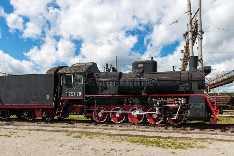 Wieder hergestellte Lokomotive äh 791-70 lizenzfreie stockfotos