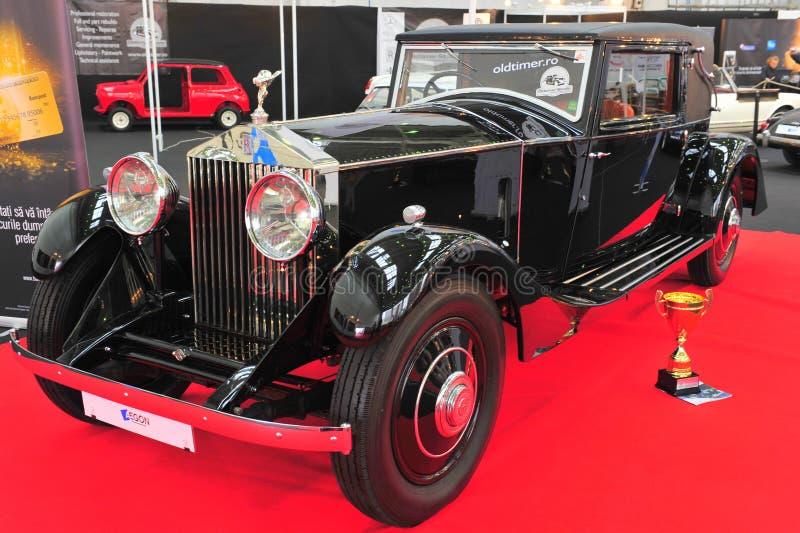 Wieder hergestelltes Auto Rolls Royce Phantom stockbild