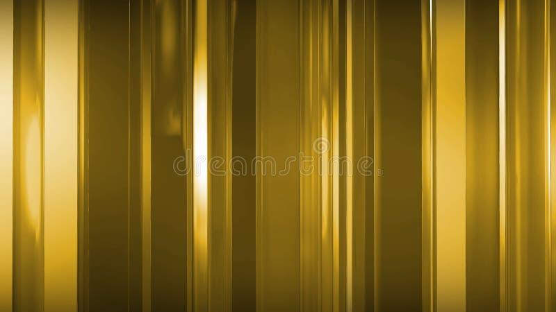 Wiedergabe 3D von abstrakten dünnen Glasplatten im Raum Platten Glanz und reflektieren sich lizenzfreie abbildung