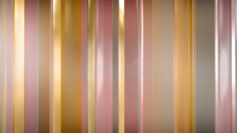 Wiedergabe 3D von abstrakten dünnen Glasplatten im Raum Platten Glanz und reflektieren sich vektor abbildung