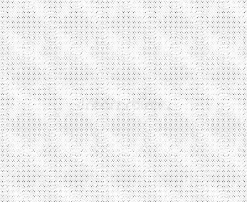 Wiederholen der weißen schneidenen Beschaffenheit der Verzierung vektor abbildung