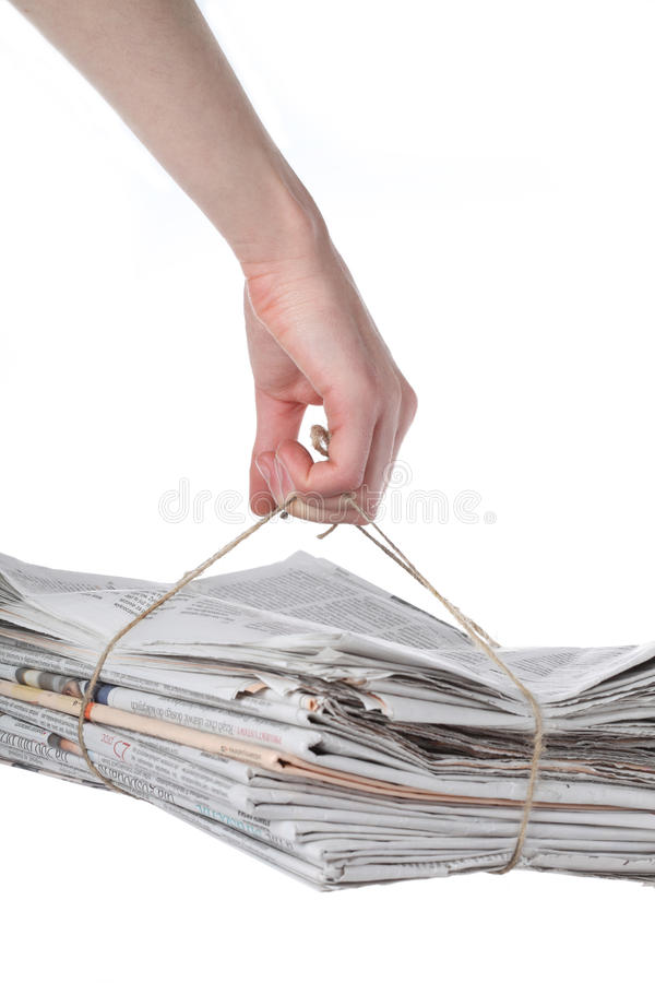 Wiederverwertung - Papier stockfotos