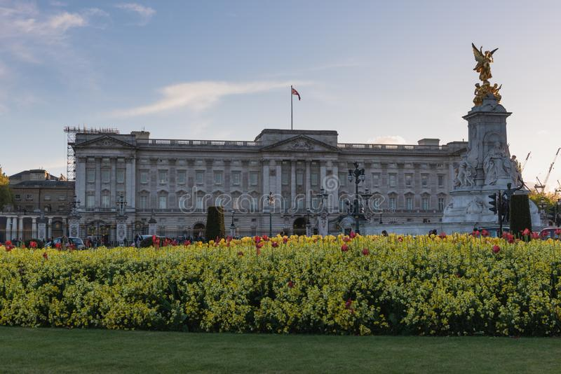 Wiedza rezultata buckingham palace - Londyn obraz stock