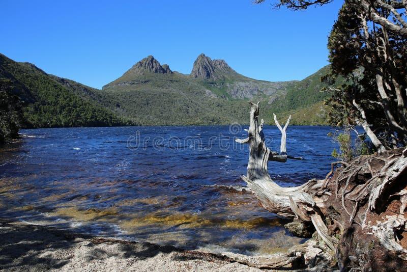 Wiegen-Berg-See-St. Clair National Park lizenzfreie stockfotos