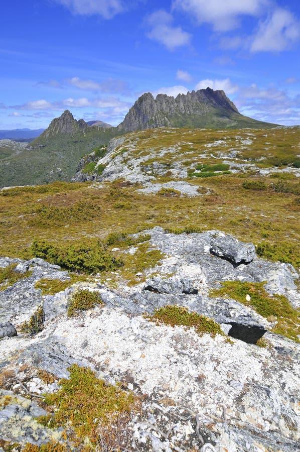 Wiegen-Berg, Tasmanien, Australien lizenzfreie stockfotografie