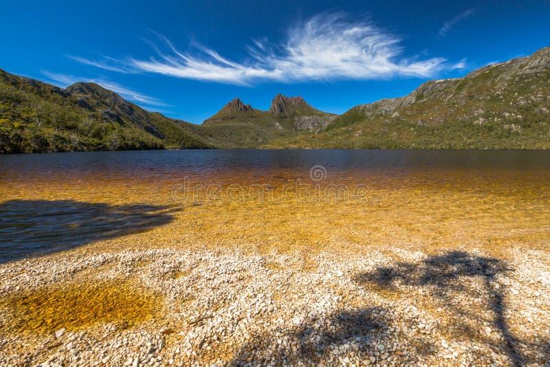 Wiegen-Gebirgsnationalpark Tasmanien stockbilder
