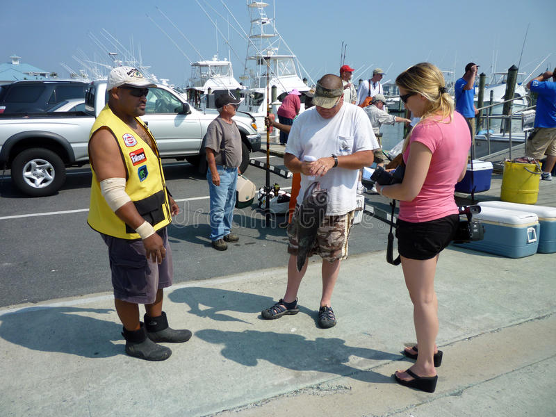 Wiegen Sie sich am Dock stockfoto