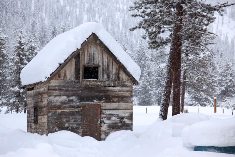 wiejska teren zima fotografia royalty free