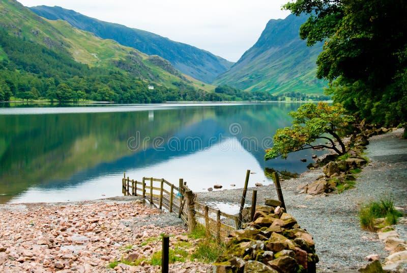 Wiejski Angielski jezioro obraz royalty free