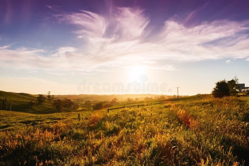 Wiejski Australia krajobraz fotografia royalty free