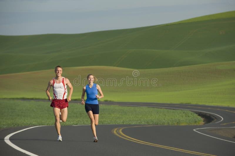 wiejski drogowy biegacz obraz stock