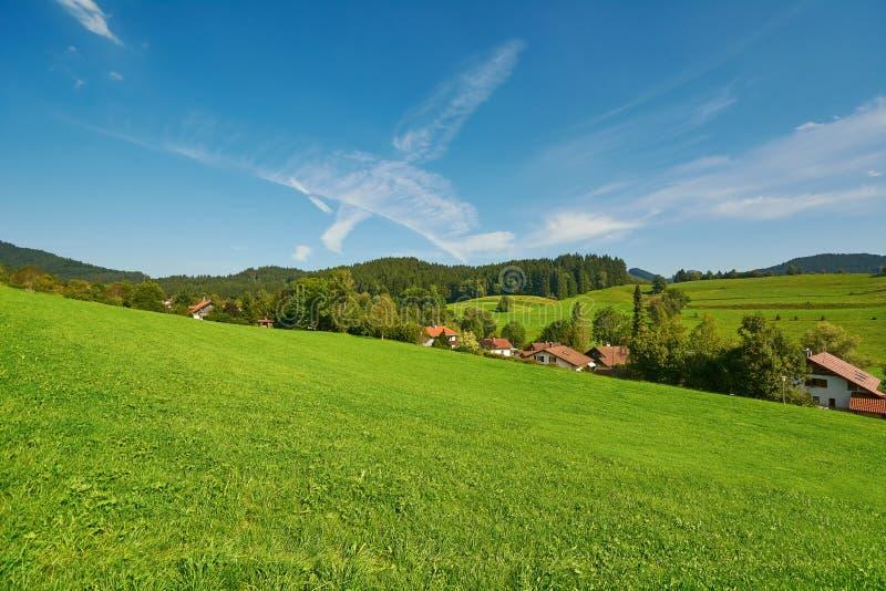 Wiejski krajobraz w Niemcy obrazy stock