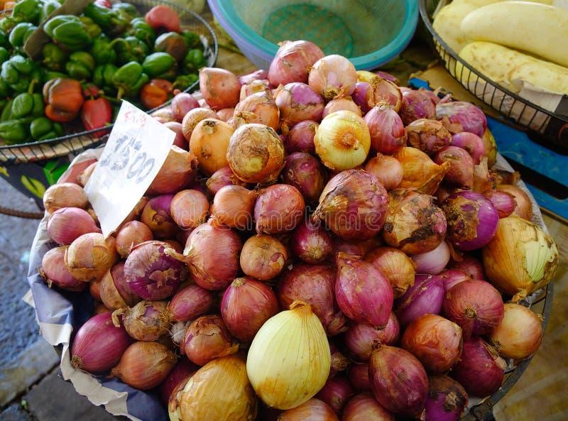 Wiejski rynek w Mahebourg, Mauritius obrazy royalty free