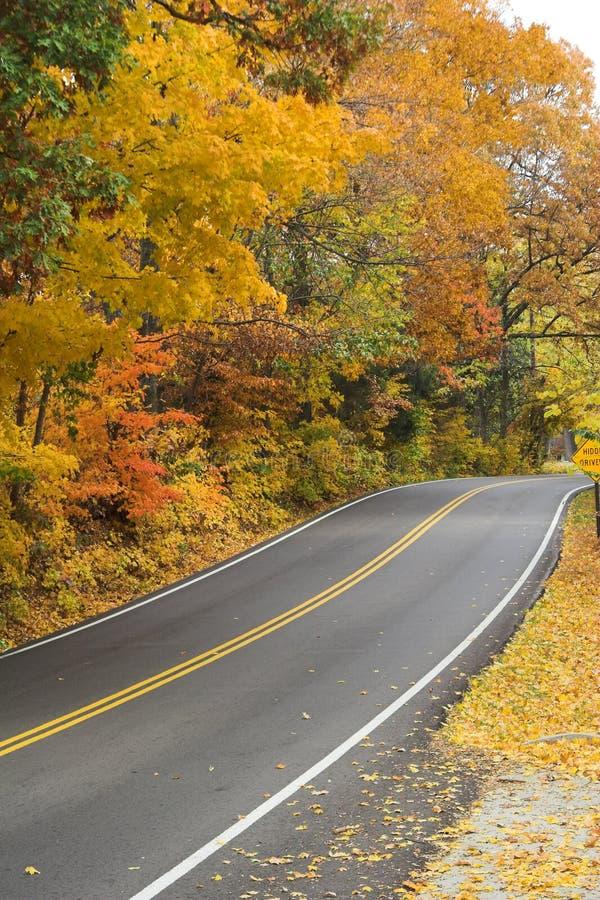wiejskie drogi zdjęcie royalty free