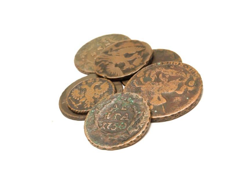 wiek monet grupa stara fotografia royalty free
