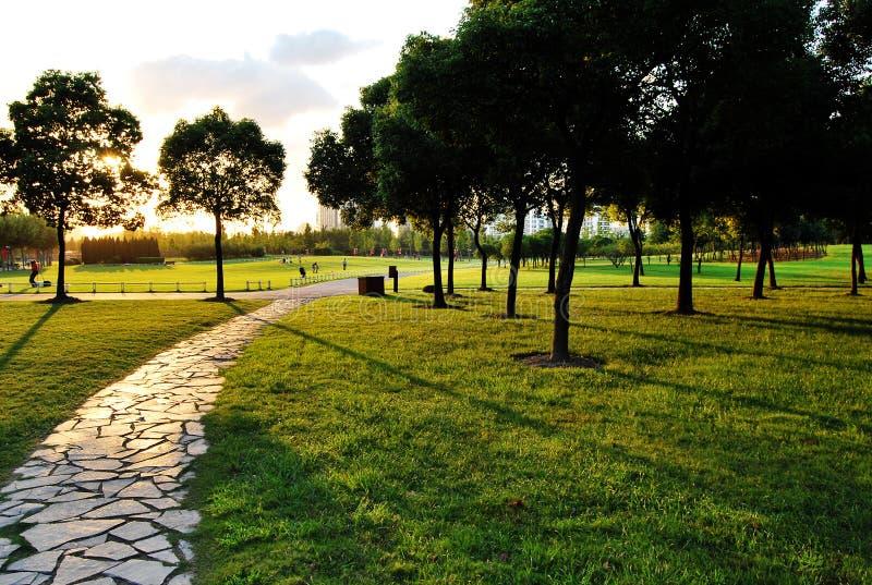 wiek parkowy Shanghai zdjęcia royalty free
